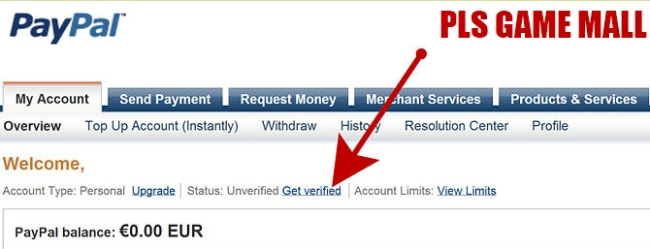 how to use a paypal load and go