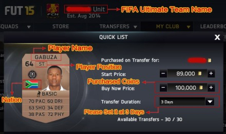 How to obtain the fifa 15 ultimate team coins fast