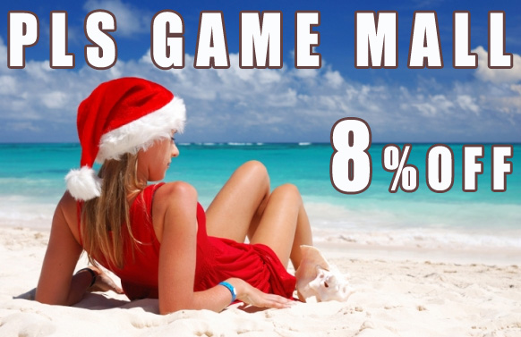 Christmas Sales 2015 PLS GAME MALL, 8% OFF